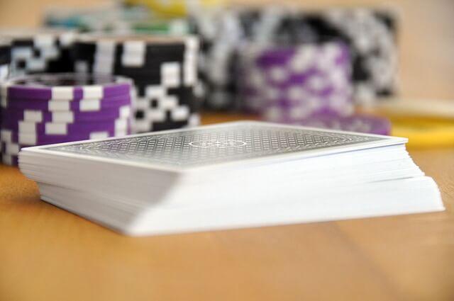 Zawodowy pokerzysta w akcji